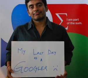 Last day at Google